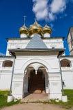 Uppståndelsekloster av det 17th århundradet i Uglich, Ryssland Arkivbild