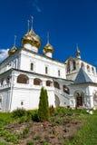 Uppståndelsekloster av det 17th århundradet i Uglich, Ryssland Arkivbilder