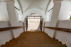 Uppståndelsekloster av det 17th århundradet i Uglich, Ryssland Royaltyfri Foto