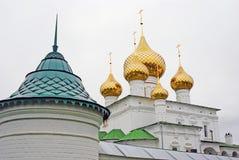 Uppståndelsekloster i Uglich, Ryssland. Arkivbilder
