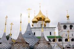 Uppståndelsekloster i Uglich, Ryssland. Royaltyfri Fotografi