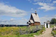 Uppståndelsekyrka i Plyos Arkivfoto