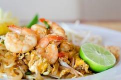 Uppståndelsesmåfisknudlar, asiatisk mat royaltyfri bild