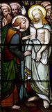 Uppstigna Jesus med Mary Magdalene Royaltyfria Foton
