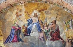 uppstigning christ jesus royaltyfria bilder
