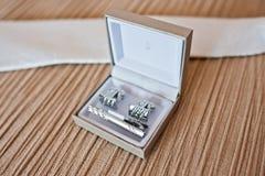 Uppsättning av brudgummen E Royaltyfria Bilder