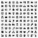 Uppsättning av symboler. affär Arkivfoton