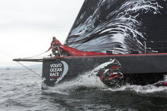 Upptäck den Irland I-Port racen Arkivfoto