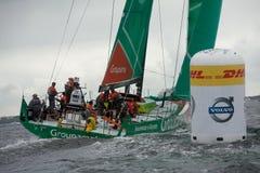 Upptäck den Irland I-Port racen Arkivbilder