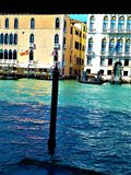 Upptäck den Venedig staden, Italien Tjusning, unikhet och magi arkivbild