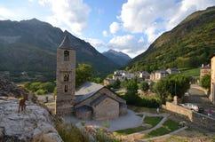 Upptäckt av El valle del Boi Fotografering för Bildbyråer