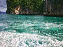 Upptäckt av Thailand, Hong Island royaltyfri foto