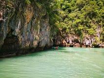 Upptäckt av Thailand som Kayaking fotografering för bildbyråer