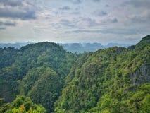 Upptäckt av Thailand, Tiger Cave sikt arkivbild