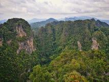 Upptäckt av Thailand, Tiger Cave sikt royaltyfri foto