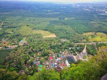 Upptäckt av Thailand, Tiger Cave sikt arkivbilder