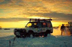 upptäckt mig Land Rover Arkivfoton