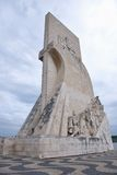 upptäcktlisbon monument till royaltyfri bild