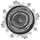 upptagen cirkelstad Arkivfoton
