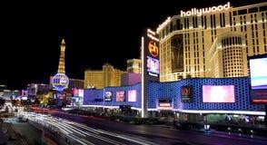 Upptagna Las Vegas Blvd royaltyfri fotografi