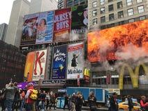Upptagna New York Fotografering för Bildbyråer