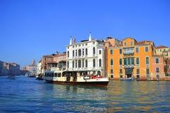 Upptäck Venedig Arkivfoto