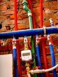 Uppvärmningsystem med ett specialt hjälpmedel Royaltyfri Bild