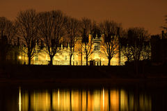 uppvakta den hampton slotten Royaltyfria Foton