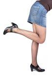 Upraised legs Stock Photo
