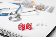 Uprawiać hazard nałóg i traktowanie Gubi i depresja zdjęcie royalty free
