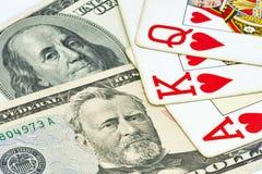 Uprawiać hazard pojęcie zdjęcia royalty free
