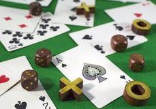 Uprawiać hazard temat 2 Zdjęcia Royalty Free