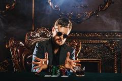 Uprawiać hazard w kasynie zdjęcie royalty free