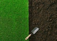 Uprawiać ogródek i Kształtować teren obrazy stock