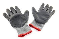 Uprawiać ogródek ochronne rękawiczki Zdjęcie Royalty Free