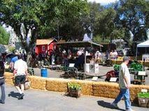 Uprawiać ziemię maszyneria eksponat, Los Angeles okręgu administracyjnego jarmark, Fairplex, Pomona, Kalifornia Obrazy Stock