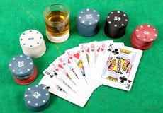 Uprawiać hazard czas Fotografia Royalty Free