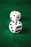 Uprawiać hazard kostka do gry Obraz Stock