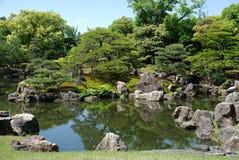 uprawia ogródek Japan ninomaru Obrazy Stock