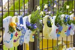 uprawia ogródek keukenhof Zdjęcia Royalty Free