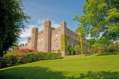 uprawia ogródek pałac Zdjęcie Royalty Free