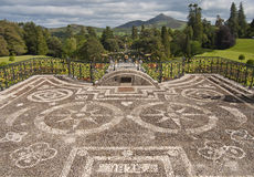 uprawia ogródek powrscourt Zdjęcia Royalty Free