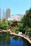 Uprawia ogródek w Hong kong Zdjęcia Royalty Free