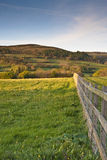uprawia ziemię Somerset zdjęcia royalty free