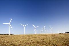 uprawia ziemię turbina wiatr Obraz Stock