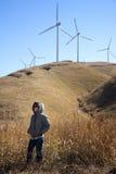 uprawia ziemię wiatraczek Zdjęcia Royalty Free