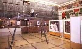 Uprawiać ziemię wyposażenie na pokazie w Memphis bawełny muzeum Obraz Royalty Free
