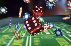 Uprawiający hazard, bzdury gra ilustracji