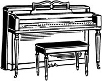 Upright Piano Royalty Free Stock Image