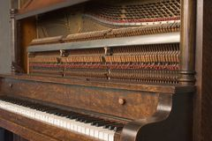 Upright Piano_8079-1S Stock Photo